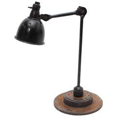 Gras Desk Lamp Designed in 1922 by Bernard-Albin Gras