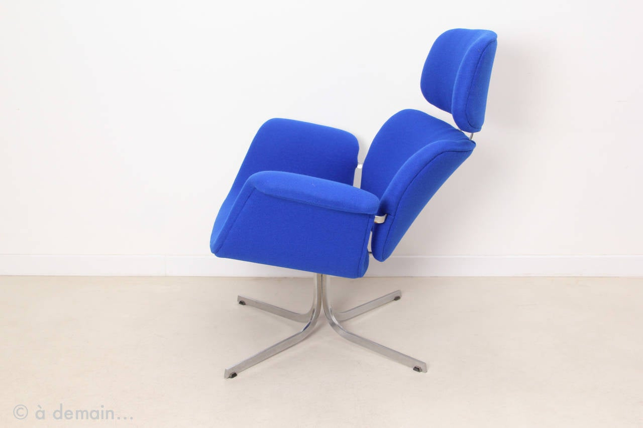 1965 Big Tulip Lounge Chair by Pierre Paulin Edited by Artifort at 1stdibs