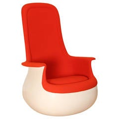 Culbuto Rocking Chair by Marc Held Produced by Knoll in 1967