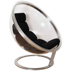 Bubble Lounge Chair by Christian Daninos, Edited by Formes Nouvelles in 1968