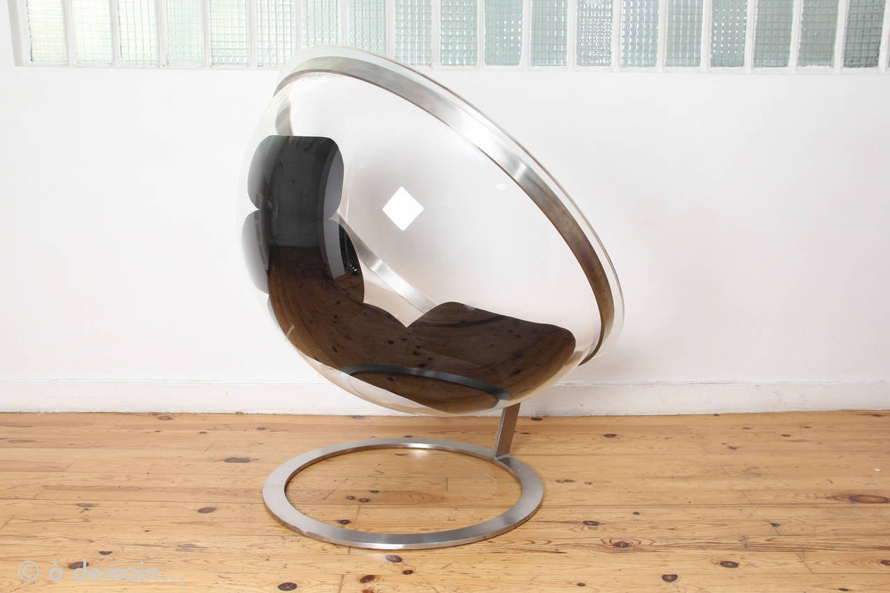 Bubble Lounge Chair By Christian Daninos Edited By Formes Nouvelles - Fauteuil bulle
