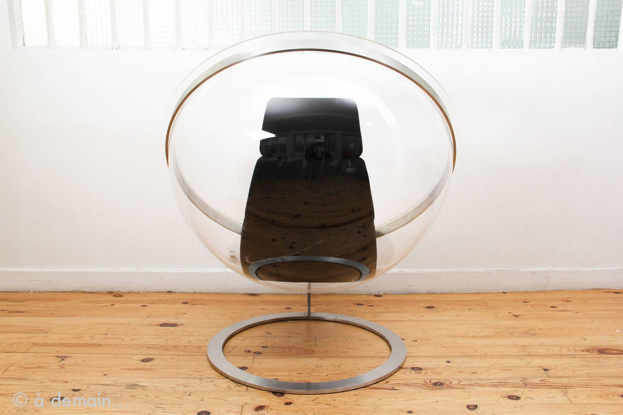 Bubble lounge chair by christian daninos edited by formes nouvelles in 1968 - Fauteuil bubble chair ...