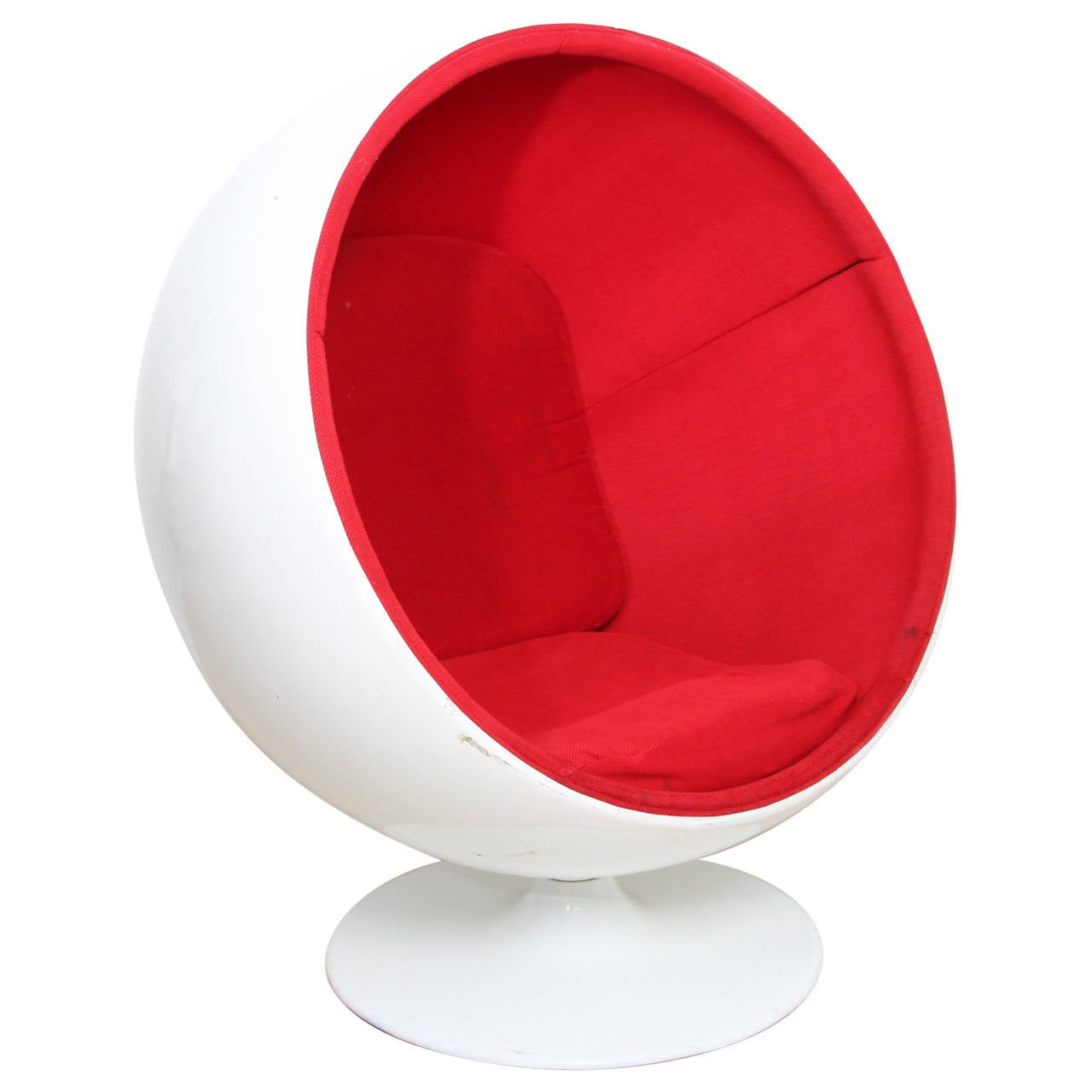 Ball chair designed by eero aarnio and produced by asko in 1963 at 1stdibs - Ball chair by eero aarnio ...