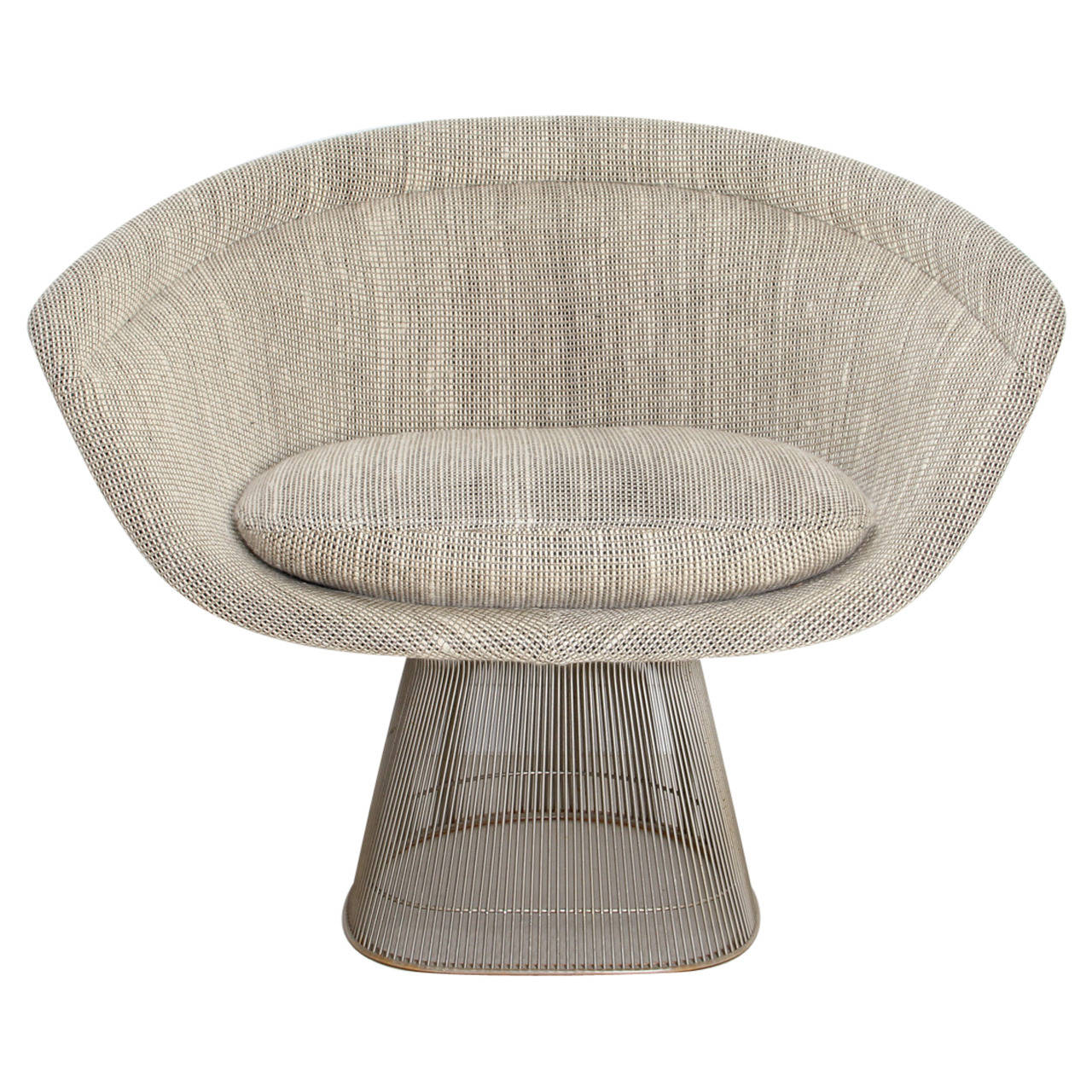 this 1966 lounge chair designed by warren platner produced by knoll is