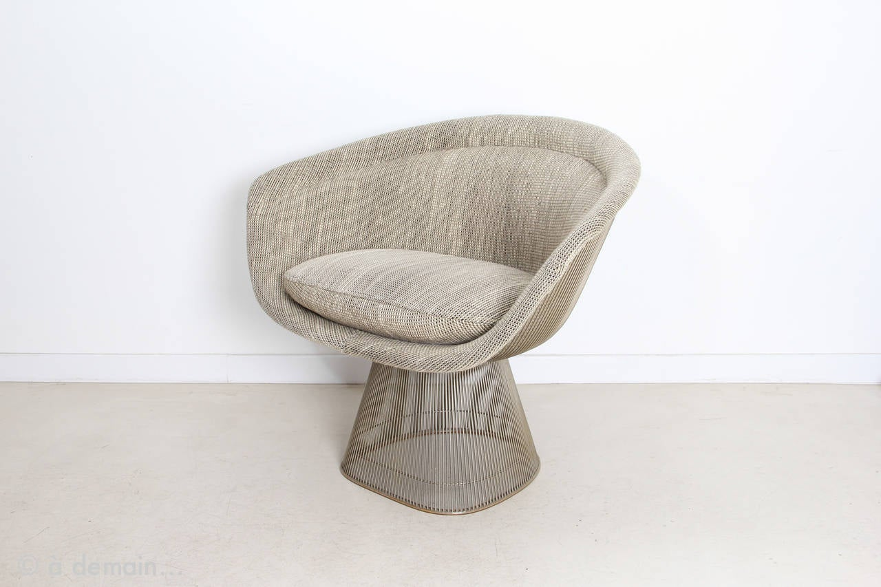 1966 Lounge Chair Designed by Warren Platner Produced by Knoll 2