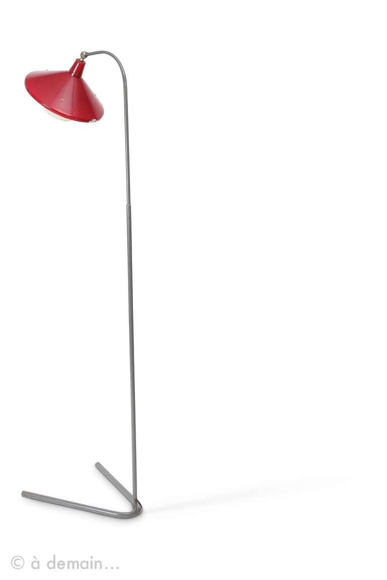 Mid-Century Modern 1950s Floor Lamp For Sale