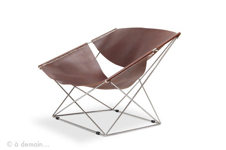 Butterfly Lounge Chair by Pierre Paulin Edited by Artifort 1963 at 1stdibs