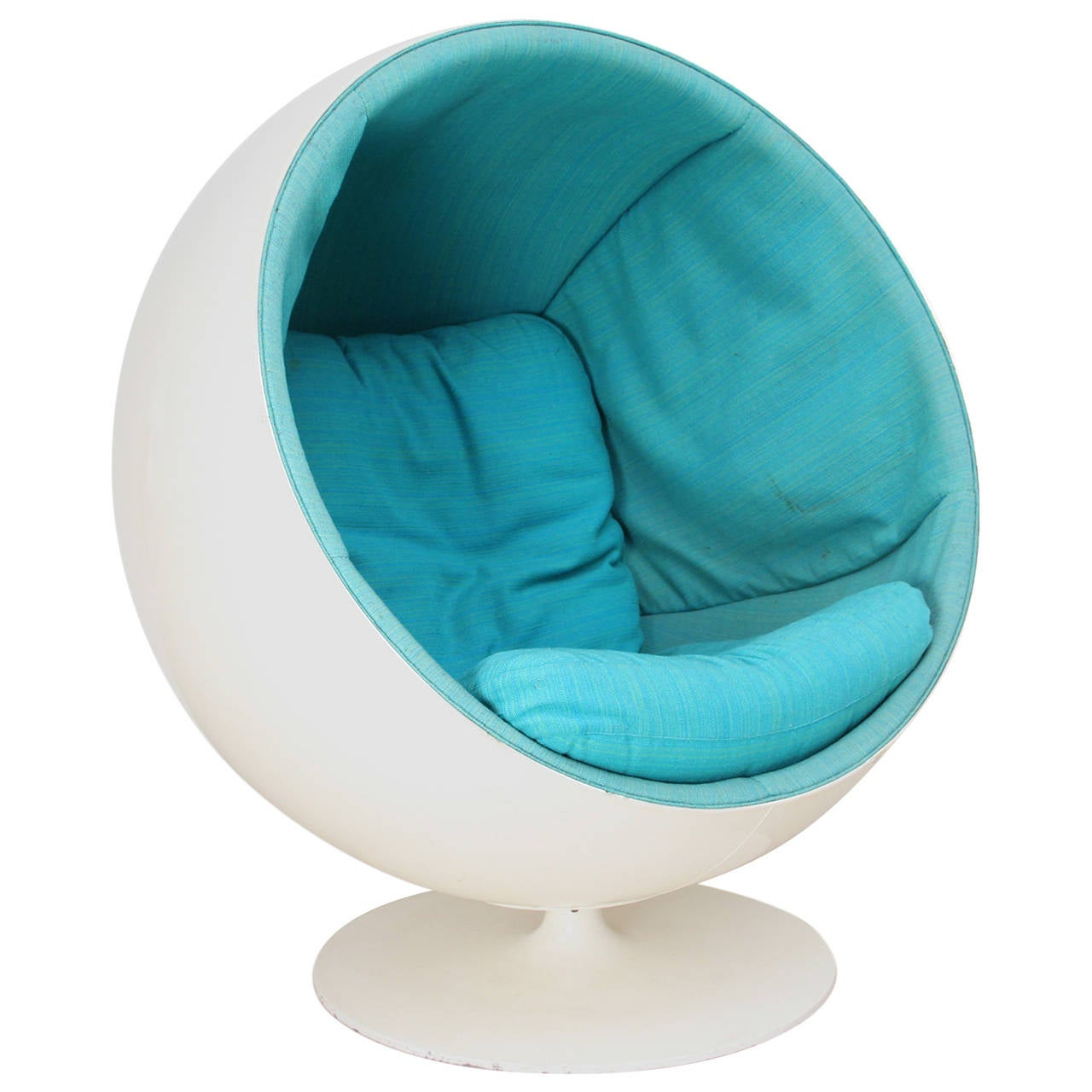 ball chair designed by eero aarnio and produced by asko in. Black Bedroom Furniture Sets. Home Design Ideas
