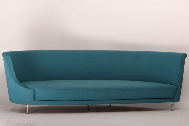 Newtone Sofa And Its Armchair Designed By Ghini And