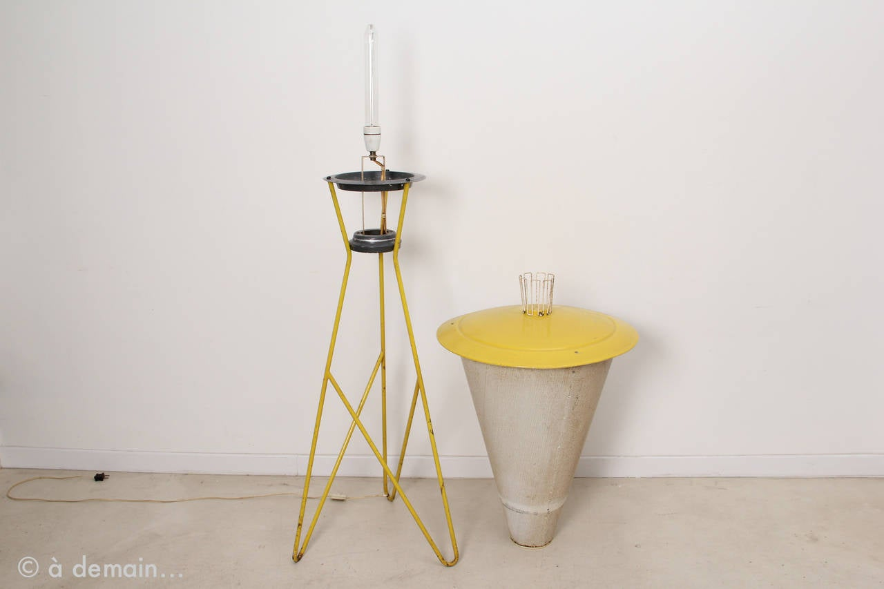 Large Perfolux Floor Lamp Produced by Hiemstra Evolux, 1954 For Sale ...