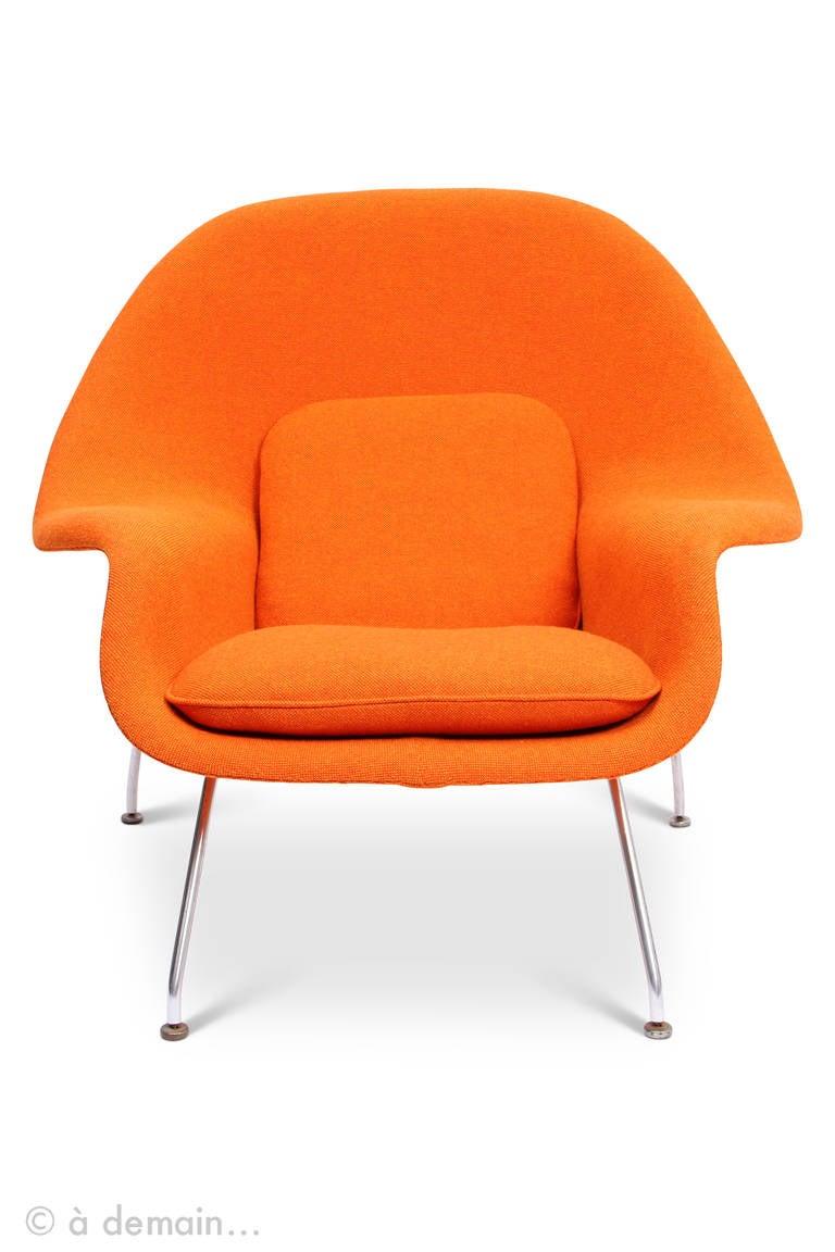 1948 eero saarinen womb chair edited by knoll at 1stdibs. Black Bedroom Furniture Sets. Home Design Ideas