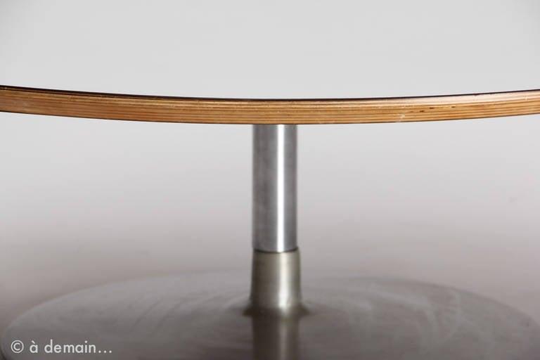 1960s pierre paulin circle coffee table basse edited by - Table basse pierre paulin ...
