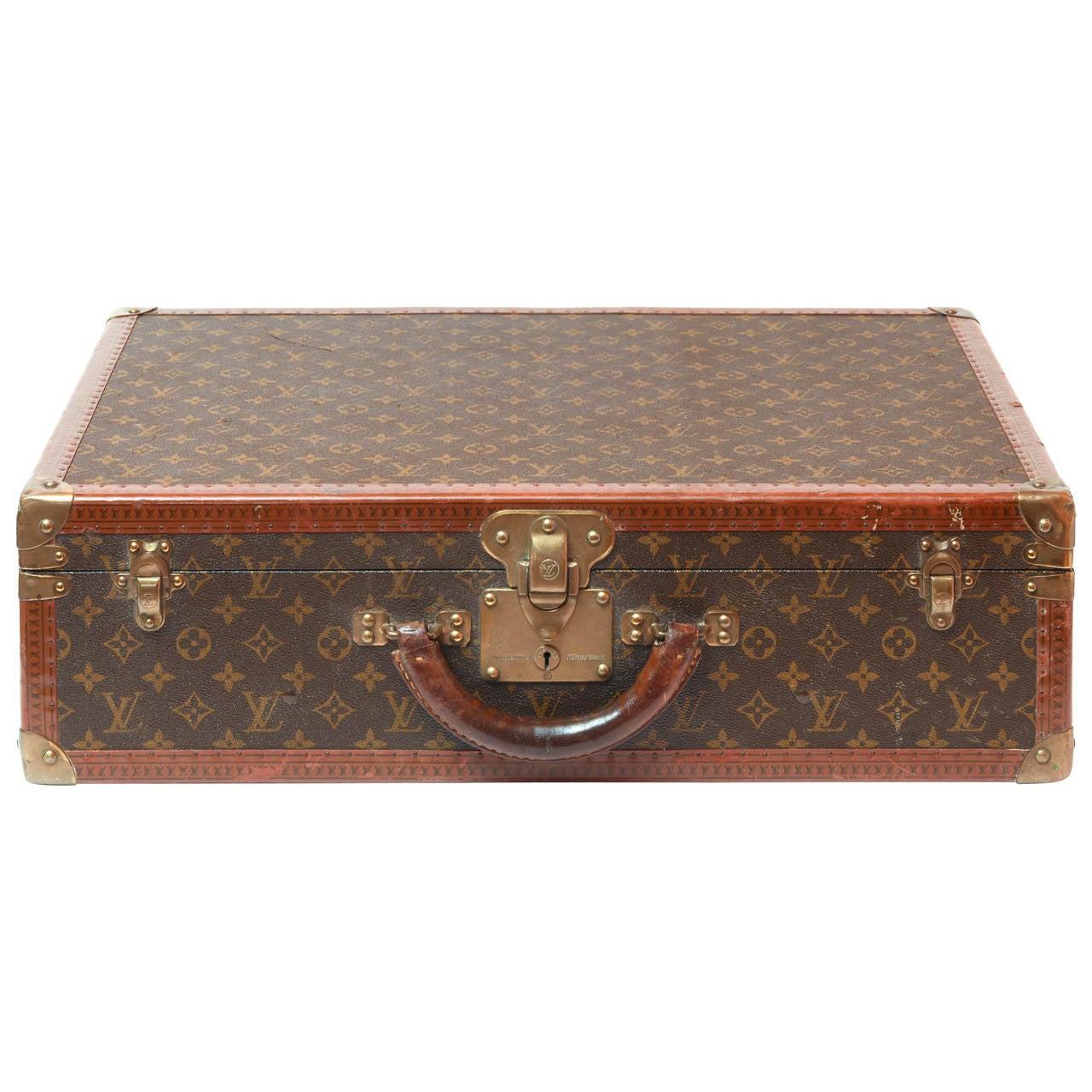 Louis Vuitton Monogram Suitcase At 1stdibs