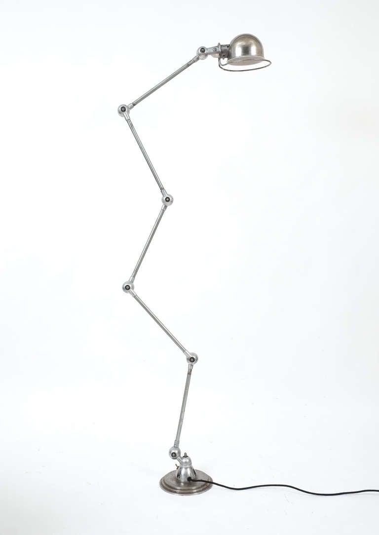 jean louis domecq industrial floor lamp for jielde 2