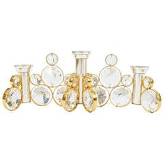 Gilt Bakalowits Candleholder for Three Candles