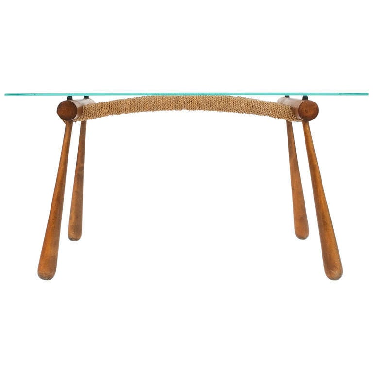 Iconic Modernist Coffee or Side Table by Max Kment, 1955