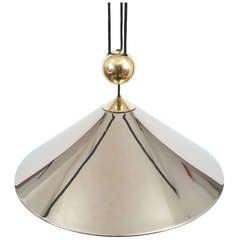 Florian Schulz Chrome Brass, Counterweight Pendant