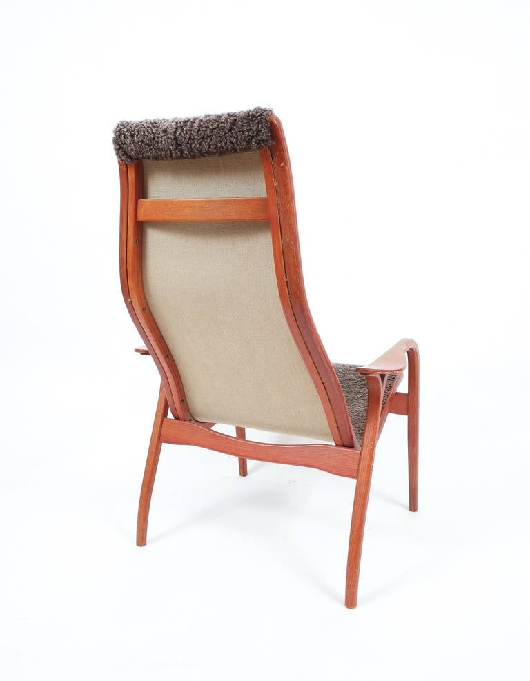 Swedese Lamino Lounge Chair Designed by Yngve Ekström at 1stdibs