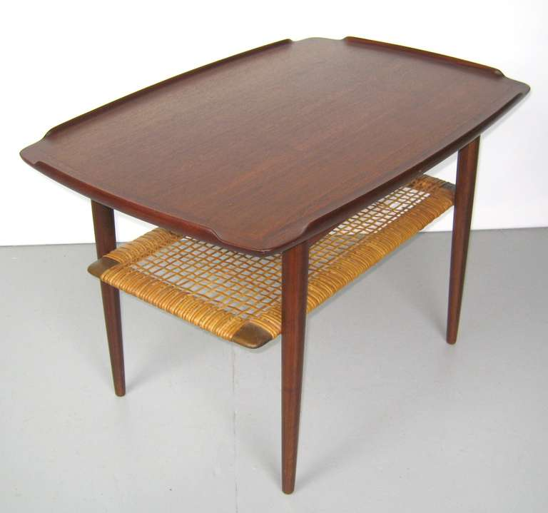 1960s End Table By Poul Jensen For Selig Denmark Sale