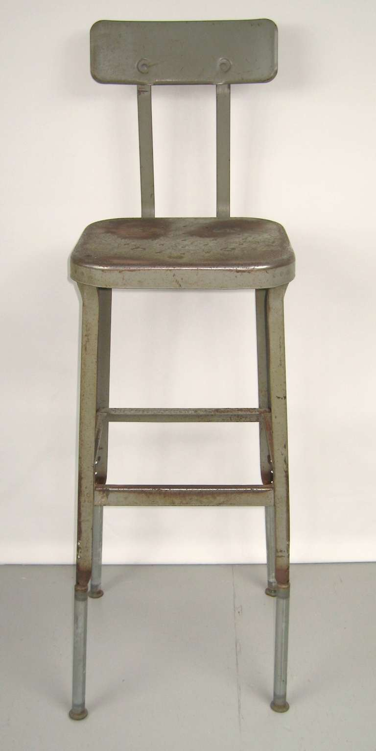 Industrial Machine Age Shop Stools Out Of The Famous