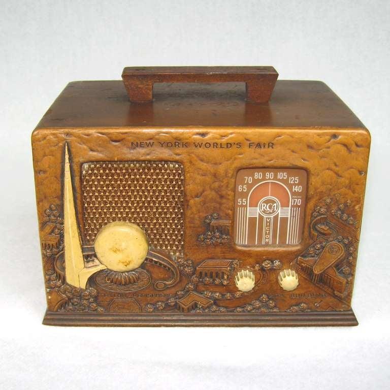 Rca 1939 New York Worlds Fair Radio At 1stdibs