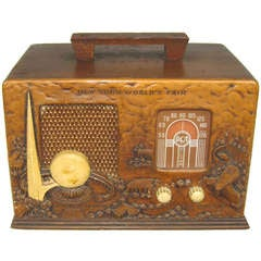 RCA 1939 New York Worlds Fair Radio