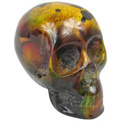 End of Day Bakelite Catalin Skull