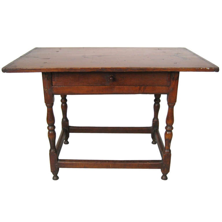 Early 1800's Tavern Table Pine For Sale At 1stdibs