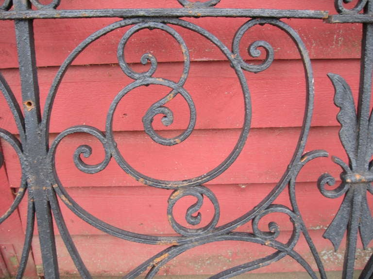 19th Century Iron Fence For Sale 1