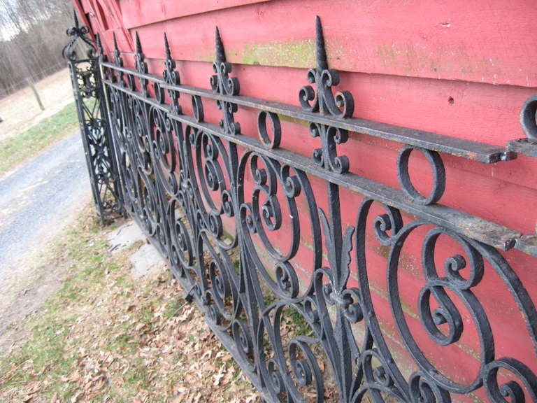 19th Century Iron Fence For Sale 3