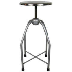 1940s Metal Medical Stool