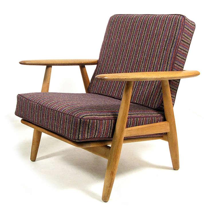 1960s Cigar Chair By Hans Wegner At 1stdibs