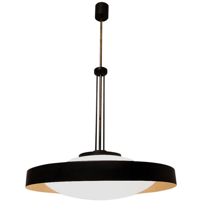Fabulous 1960s Space-Age Ceiling Fixture by Stilnovo at ...