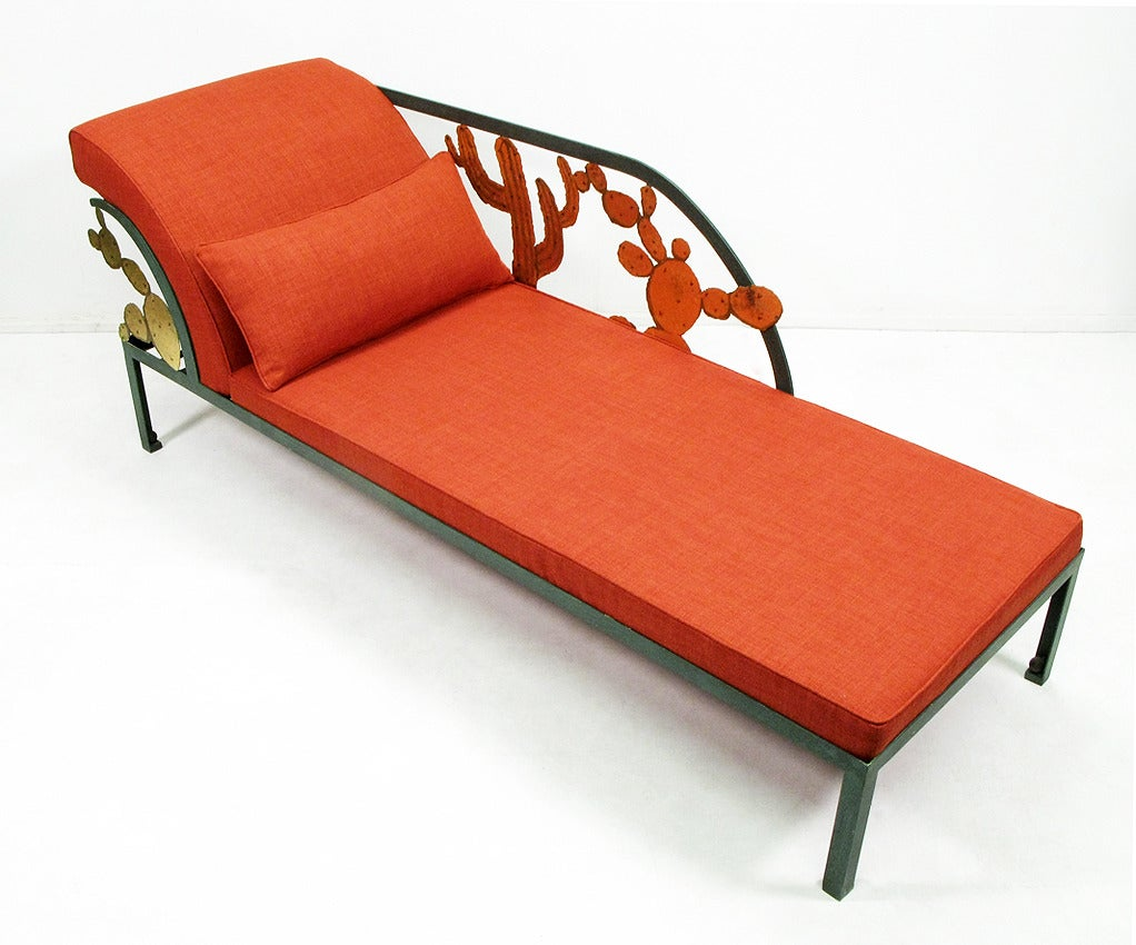 Cactus chaise longue by hilton mcconnico at 1stdibs for Chaise longue 2 personnes