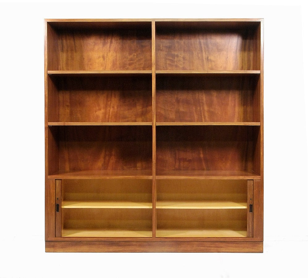modern danish mahogany shelving unit or bookcase with. Black Bedroom Furniture Sets. Home Design Ideas