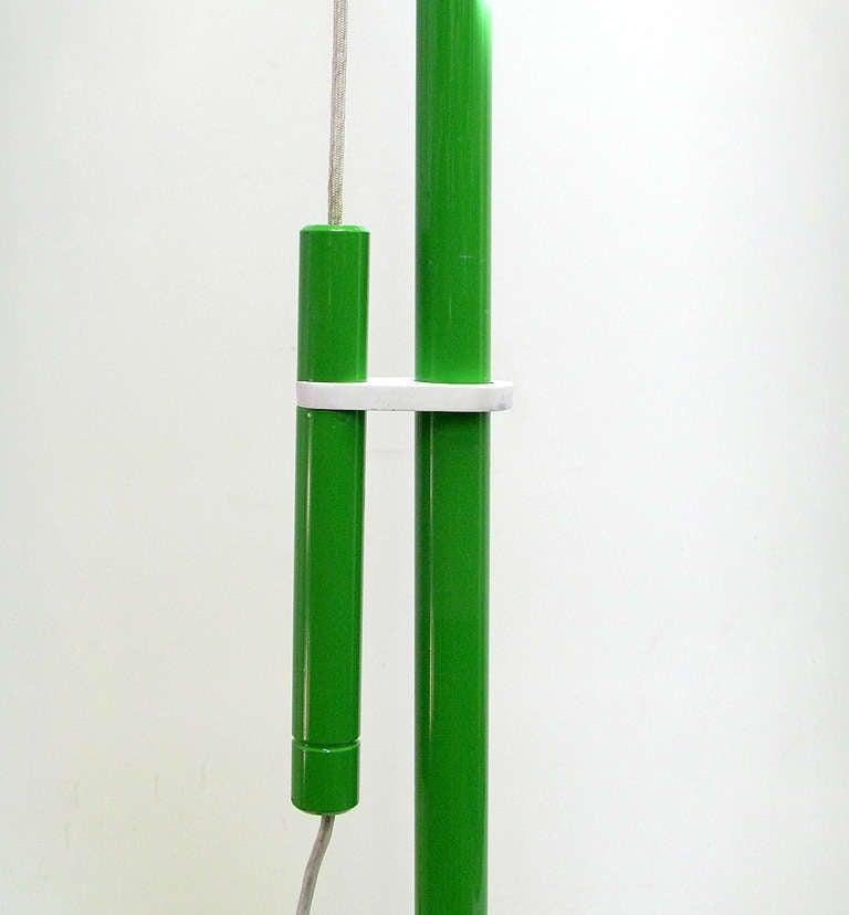 """1970s """"4055"""" Floor Lamp By Luigi Bandini For Kartell 7"""