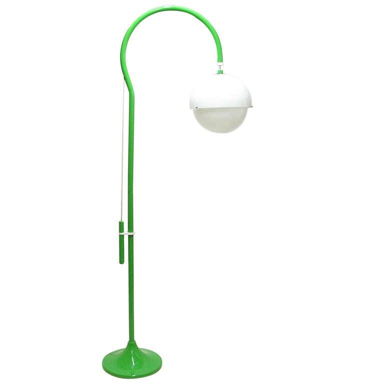 """1970s """"4055"""" Floor Lamp By Luigi Bandini For Kartell 1"""