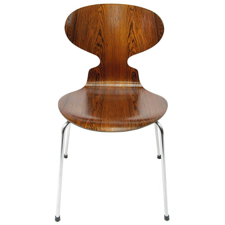 rosewood ant chair by arne jacobsen 3 available at 1stdibs. Black Bedroom Furniture Sets. Home Design Ideas