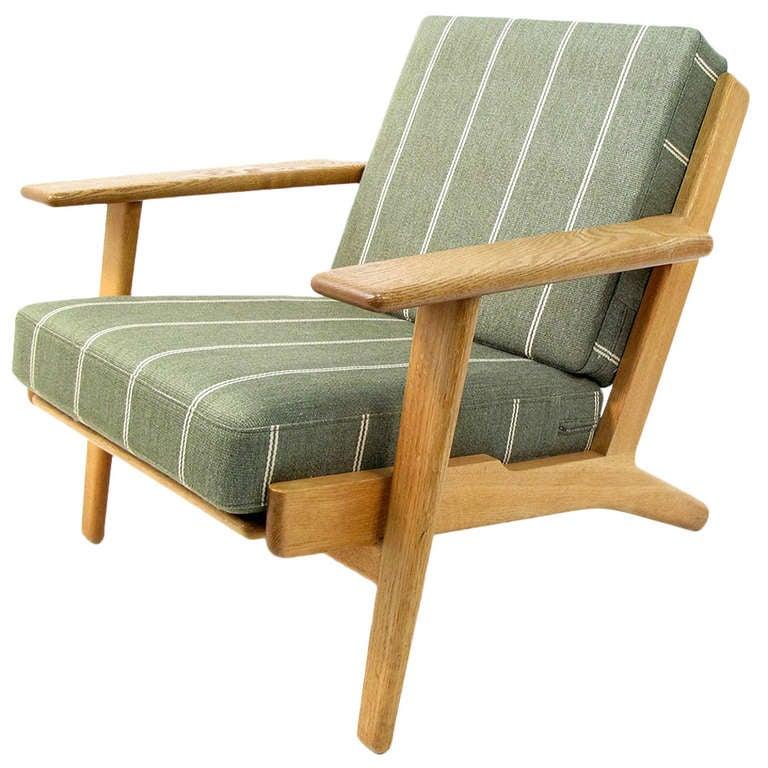 Vintage 1970s GE 290 Chair By Hans Wegner At 1stdibs