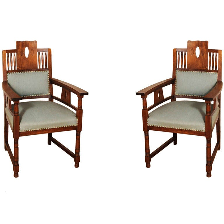 A dutch art deco mahogany dining room set of a table and for Dining room table and 4 chairs