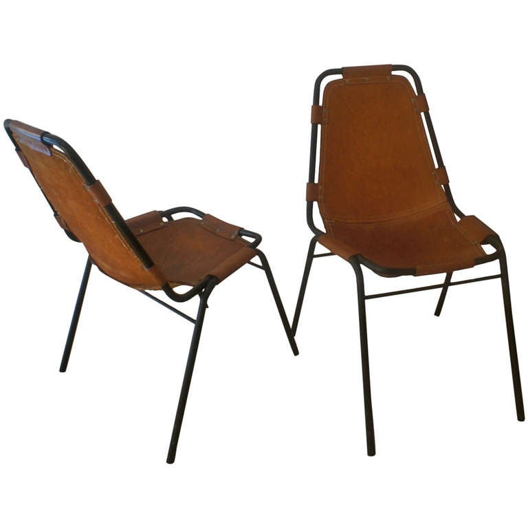 Charlotte Perriand, Pair of Chairs at 1stdibs