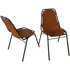 Charlotte Perriand, Pair of Chairs
