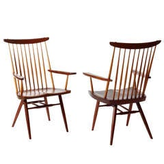 "George Nakashima, ""New"" Armchairs"