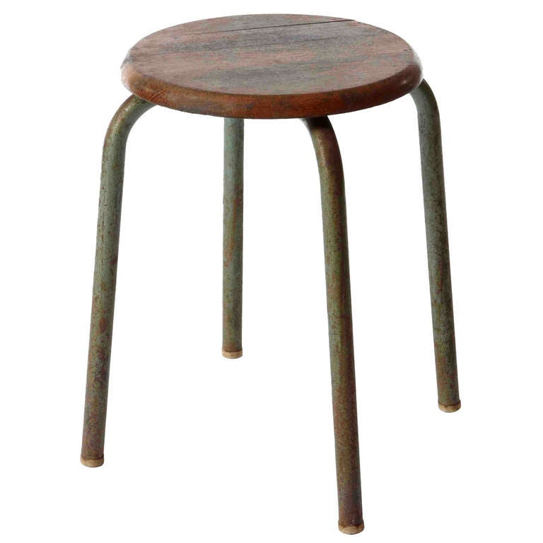 jean prouve stool at 1stdibs