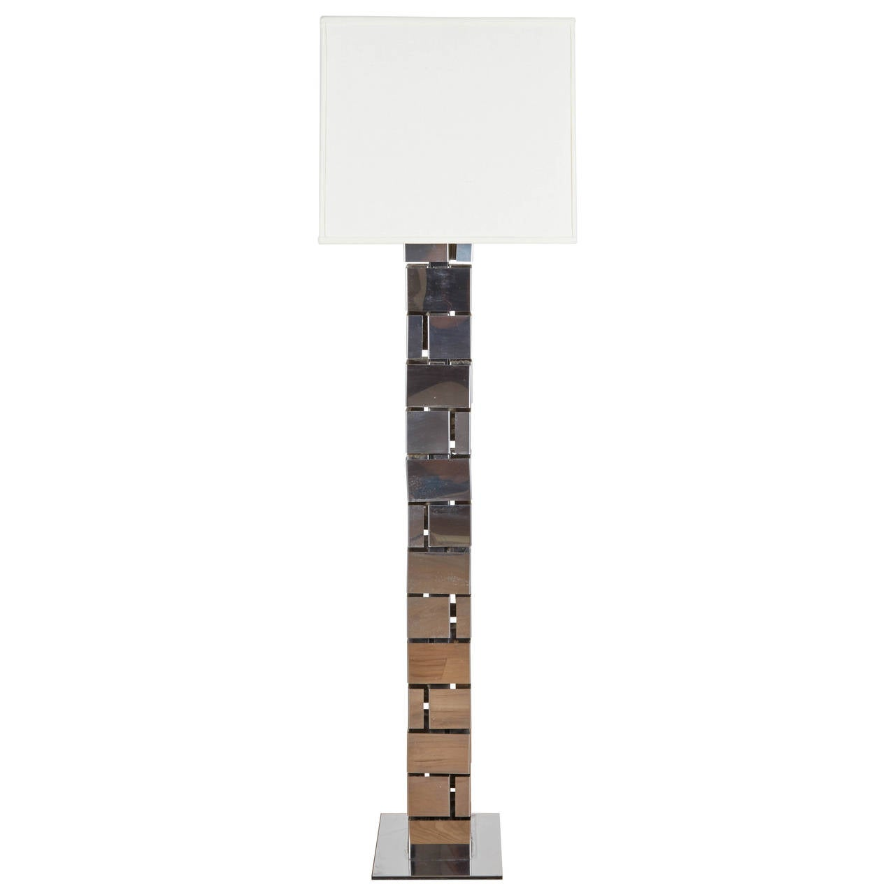 1970s, Floor Lamp by Curtis Jere For Sale