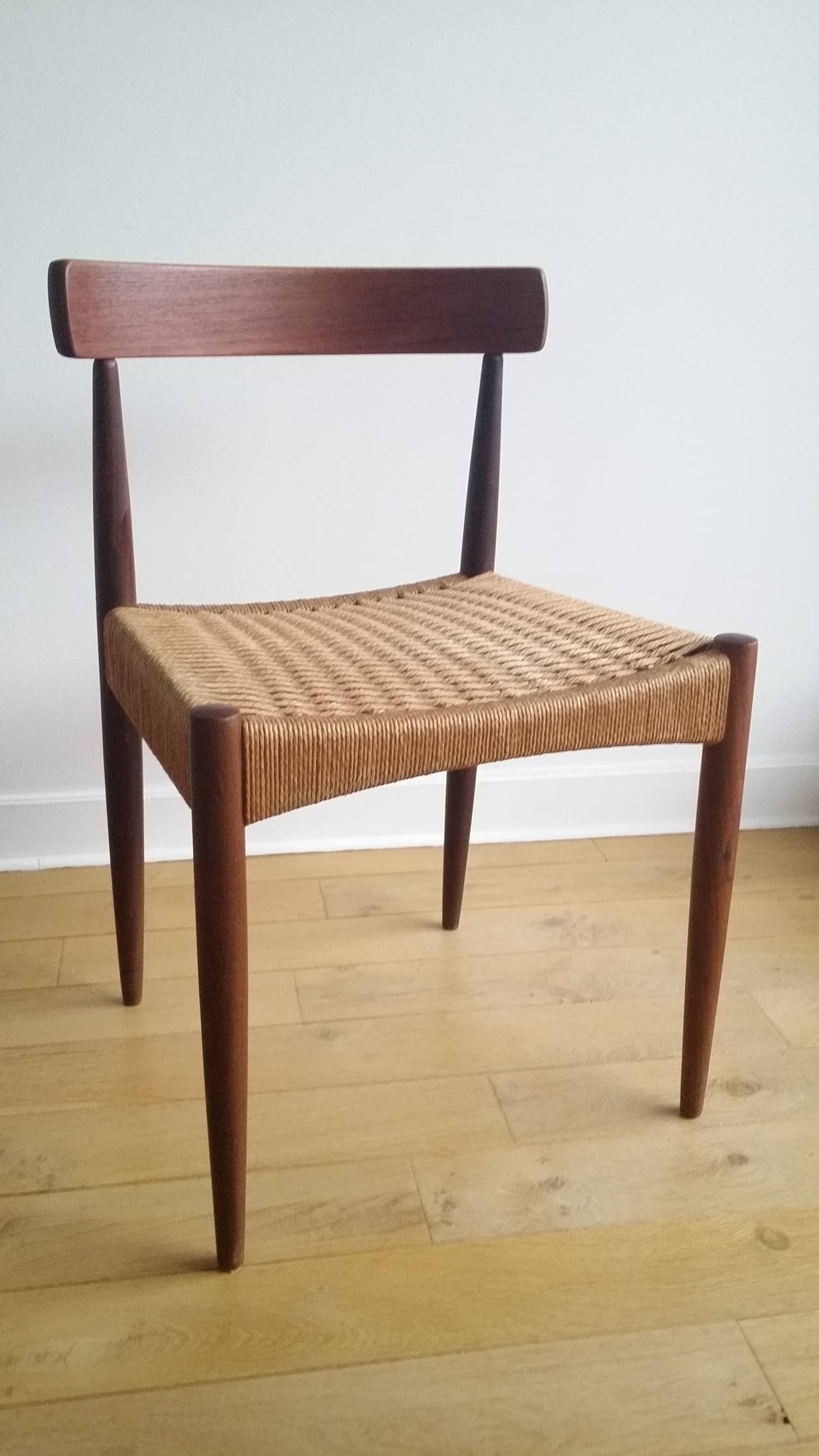 Pair Of Signed Danish MK Chairs, Denmark, 1960s For Sale 1
