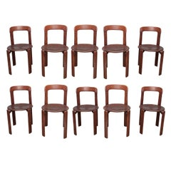 Set of 10 Bruno Rey 1970s Chairs - Switzerland early 1970's - Ipso Facto