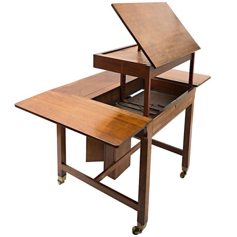 george iii mahogany architect table at 1stdibs