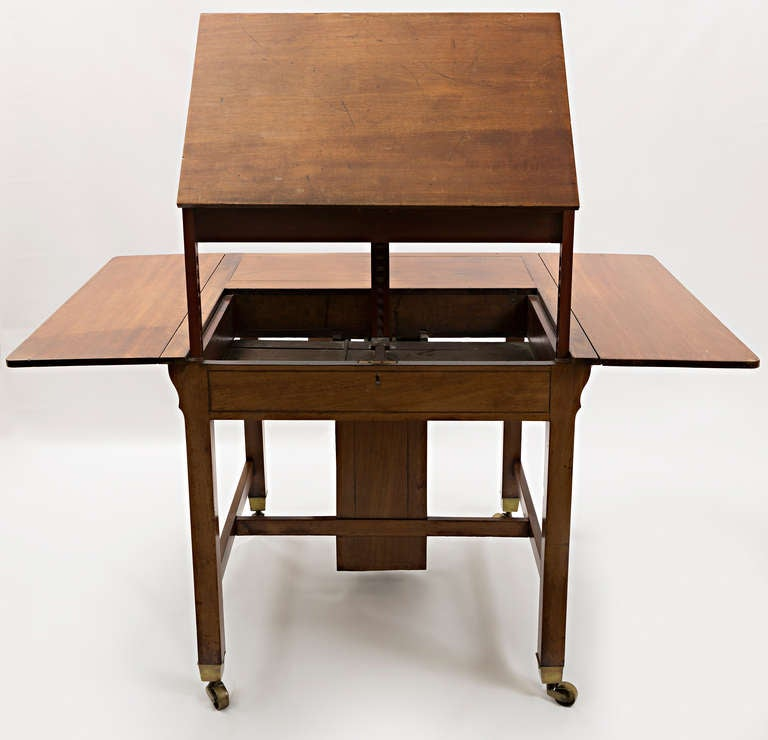 george iii mahogany architect table for sale at 1stdibs