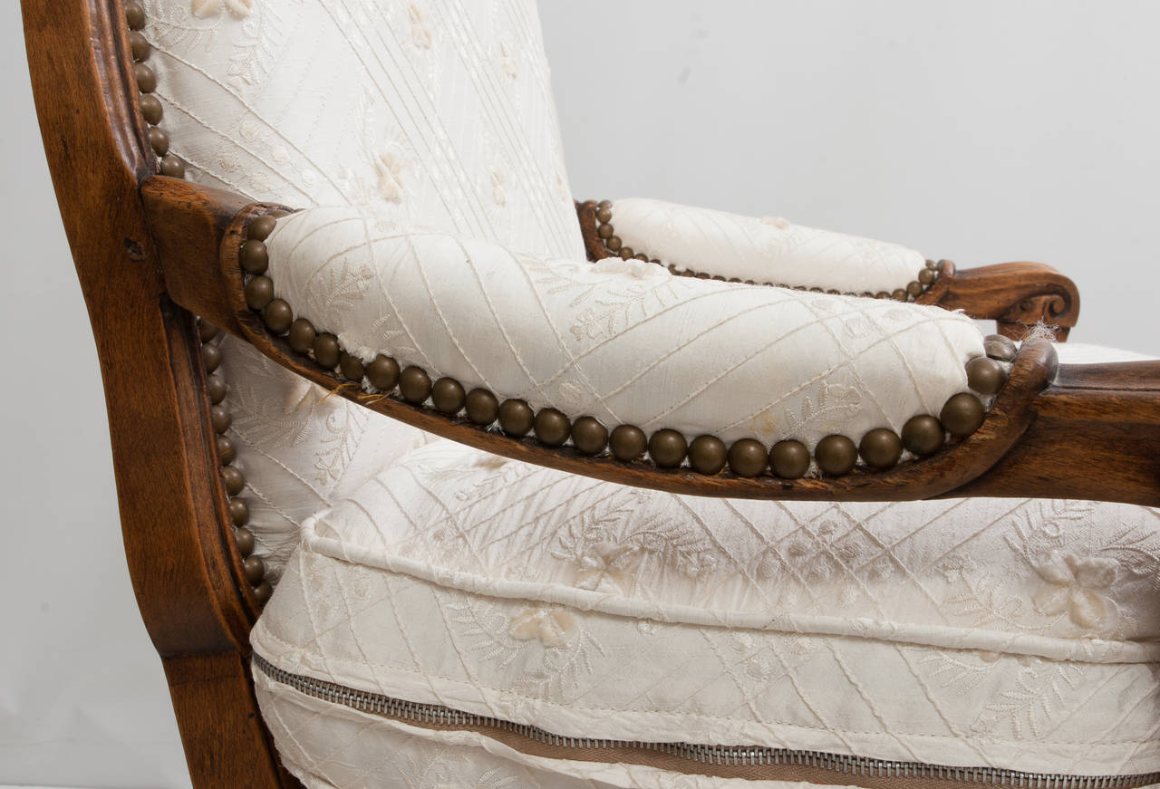 French antique louis xv style chaise lounge for sale at for Antique chaise lounges for sale